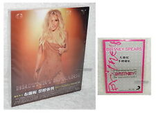 Britney Spears Glory Japan Tour Edition 2017 Taiwan Ltd 2-CD w/BOX +Sticker
