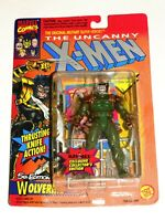 1993 MARVEL UNCANNY X-MEN 5TH EDITION WOLVERINE KAYBEE FIGURE TOY BIZ GREEN!