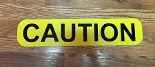 "4"" x 20"" Magnetic Sign - CAUTION - Pilot Car/Escort Vehicle/Oversize Load/Safety"
