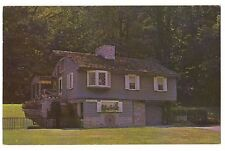 GRIST MILL Water Wheel Grinding Stone DEEDS PARK Dayton Ohio Postcard OH KOPPLE