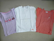 lot de 3 tee shirt fille 4 ans manches courtes (orchestra - marese - kidkanai)