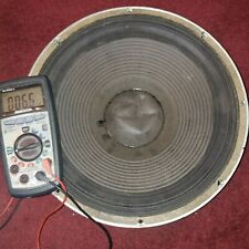 JBL 130A 16 OHMS WOOFER RECONDITIONED TESTED WORKS GREAT