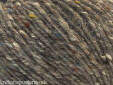 10 X DEBBIE BLISS DONEGAL LUXURY TWEED ARAN YARN SH 42 PACK OF 10