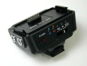 AS-9 Adapter for Nikon SB-16 Speedlight Flash for use with standard Hot Shoe