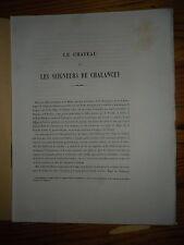 1876 HAUTE MARNE CHALANCEY RARE + LITHOS