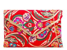 LeahWard Women's Satin Floral Clutch Bags Party Wedding Evening Handbag 158