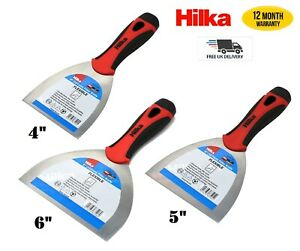 Filling Knife Taping Jointing Scraper Flexible Polished Steel Putty Spatula