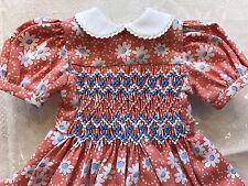 """Dianna Effner Little Darling 13"""" Doll Dress 33cm Boneka Smocked Floral Blush"""