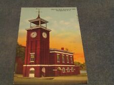 Postcard-Old City Hall, Georgetown, S. C.-Linen Era-Posted
