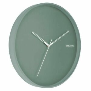 Karlsson Wall Clock Hue Green – the timeless CLOCK for your modern home