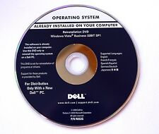 Reinstallation DVD Microsoft Windows Vista Business 32Bit Dell Integrated Key