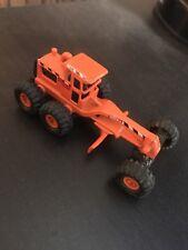 Maisto Tonka Mini Road Grader (1993 Hasbro) Good Condition Orange