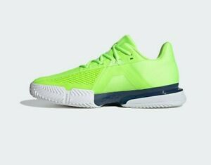 Adidas Solematch Bounce - Tennis shoes - Green - FU8119 - UK 10,11 & 12