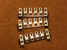 Lot of 3 New 6-Lug Phenolic Terminal Strips with Solder Lugs for Tube Amplifiers