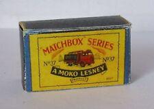 Repro box Matchbox 1:75 nº 37 coca cola Lorry