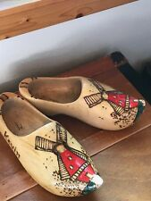 Dutch Red Wooden Shoes In Dolls Ebay