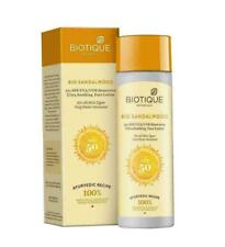 Biotique Bio Sandalwood Face Lotion 50+ SPF Sunscreen Ultra Soothing 120 ml