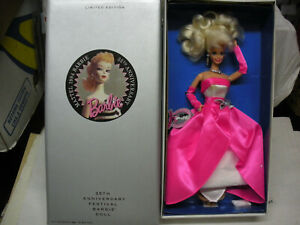 BARBIE 35th ANNIVERSARY BARBIE DOLL 1994 LIMITED EDITION NRFB MATTEL PERFETTA