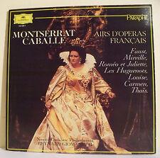"33T Montserrat CABALLE Disque LP 12"" AIRS OPERAS FRANCAIS Reynald GIOVANETTI"