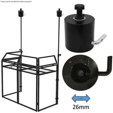Equinox Twin Pack 26mm Single Stand Top Cast Casting DJ Booth Overhead Kit Mk2