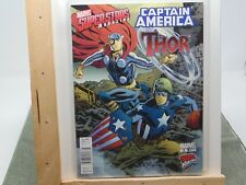 Marvel Superstars Magazine Thor Captain America #5 Marvel Comics GM1623