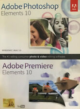 Adobe Photoshop Elements and Premiere Elements 10 for PC, Mac - Sealed Box