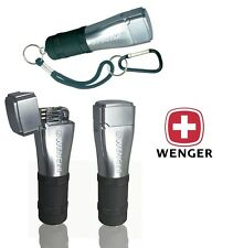 WENGER FIDIS SWISS ARMY FLINT & WICK CAMPING LIGHTER / BLACK CAMPING SURVIVAL