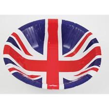 8 x Great Britain Union Flag Paper Bowls Royal Wedding Party GB Tableware 994924