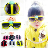 Novelty Foldable Cute ladybug Sunglasses Goggles For Baby Kids Boys Girls L1C6