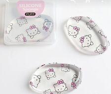 Hello Kitty Cosmetic Silicone Sponge Makeup Puff For Liquid Foundation BB Cream