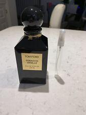 Tom Ford Tobacco Vanille 10ml Travel/sample Spray Bottles