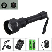 T50mm Infrared IR 850nm Night Vision LED Flashlight Hunting Torch Camping Light