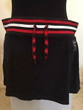 *~ Triple 5 Soul*~woman's Skirt*~ L*~ 555*~Black*~NWT*~Red*~Triple Five Soul*~