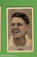 1934 - 1935 ALLEN'S CRICKET CARDS #9  L. O'B. FLEETWOOD-SMITH