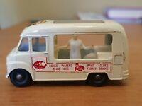 MATCHBOX LESNEY DIECAST MOKO No 47b Commer Ice Cream Van Lyons TALLER FIGURE EDI