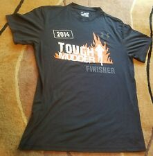 Under Armour 2014 Tough Mudder Finisher Graphic HeatGear Shirt Gym crossfit Lrg