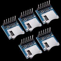 Micro SD Card Module Mini SD-Card Module Memory Modules For Arduino ARM AVR x5