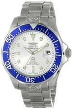Invicta Men's Pro Diver Automatic 300m Silver Dial Stainless Steel Watch 3046
