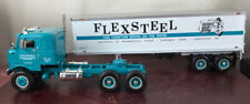 "First Gear ""Flexsteel Industries"" '53 Kenworth Bull-Nose Tractor Trlr 19-1818"