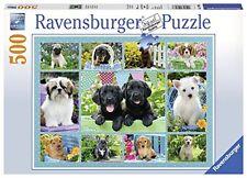 Ravensburger Italy 147083 - Puzzle teneri cuccioli, 500 Pezzi, (h9u)
