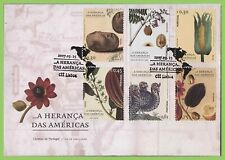 Portugal 2007 produce from the Americas set on First Day Cover