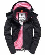 BNWT Womens Superdry Hooded Fleece Lined Arctic Windcheater, XL, Size 16 UK