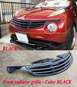 Radiator GRILLE for Nissan Juke 2010 - 2014 ( before restayling ) Black  plastic