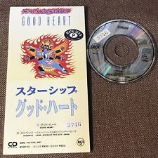 "STARSHIP Good Heart JAPAN 3"" CD BVDP-41 Unsnapped ex.Rental Jefferson Airplane"