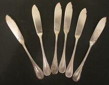 CHRISTOFLE :  couteaux a poisson en métal argenté ménagère fish Knives