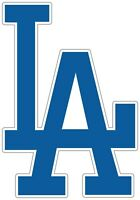 "Los Angeles Dodgers LA MLB Vinyl Decal - You Choose Size 2""-38"""