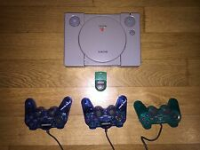 Play station1 + 3 controller