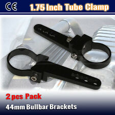 2PCS 1.75inch Roof Rack Bull Bar Clamp Nudge Bar Mounting Bracket LED Light Bar