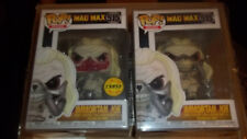 Funko Pop Mad Max Fury Road Immortan Joe Chase & Reg Figure Set w/ protect