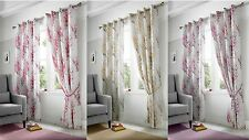 Ideal Textiles Polyester Floral Curtains